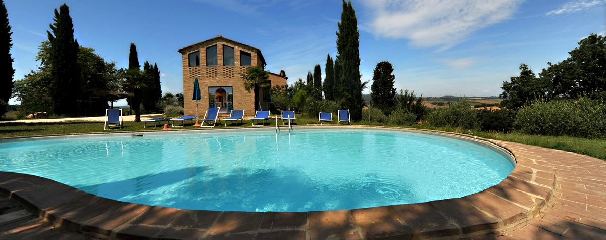 Agriturismo con piscina in Val d'Orcia